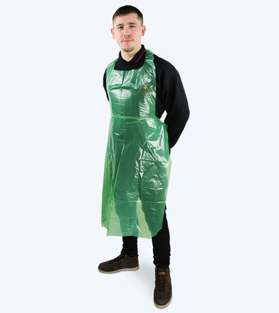 MP aprons green