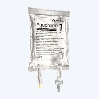 IN02010 Aqupharm Sodium Chloride 100ml